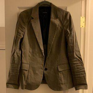 Aritzia - babaton linen khaki blazer